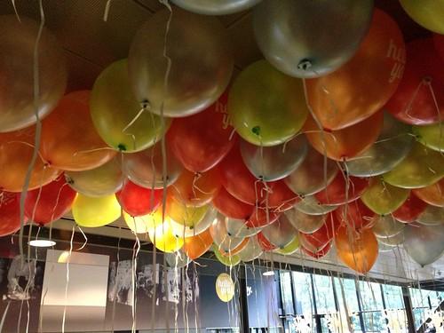 Heliumballonnen Ahoy Rotterdam bedrukt met Hello You!