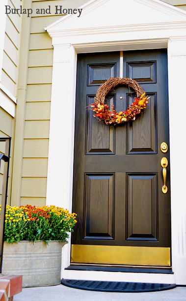 Decorated Fall Door