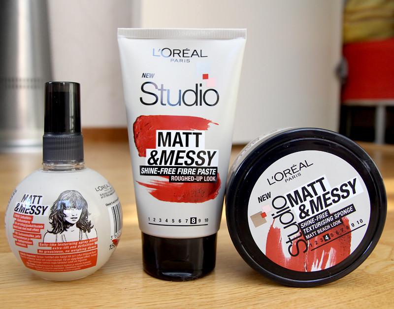 L'oréal studio line matt & messy