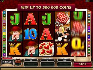 Rhyming Reels Hearts & Tarts Slot Machine