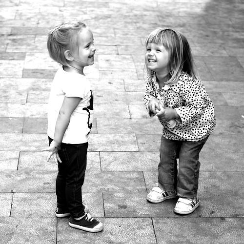 Children B&W