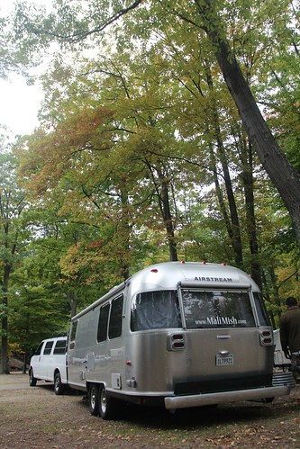 Day 64: Arriving at Ludington State Park.