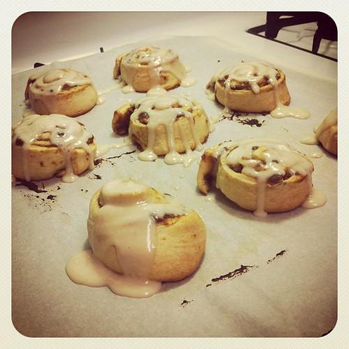 pumpkin butter rolls