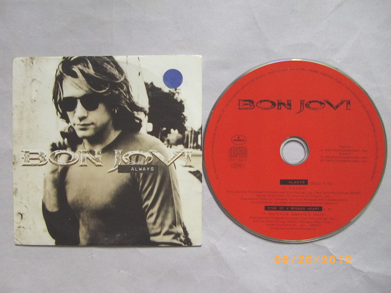 Bon Jovi - Always Card Sleeve