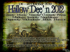 Isle of Dee Halloween Poster ~ Hallow Dee'n October Special