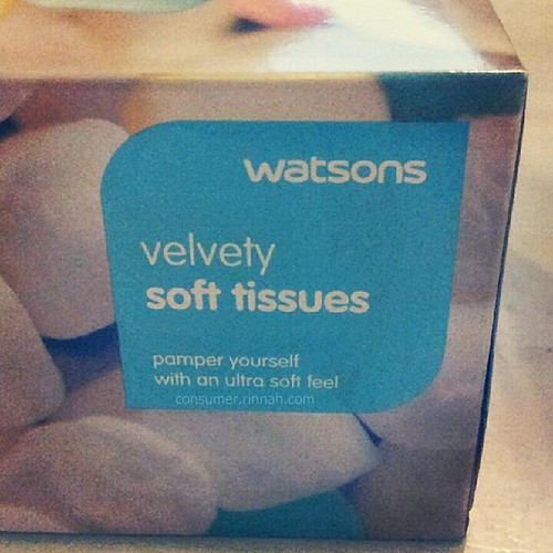 Watsons tissue box