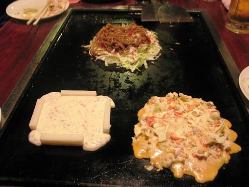 okonomiyaki - japanese treats and snacks