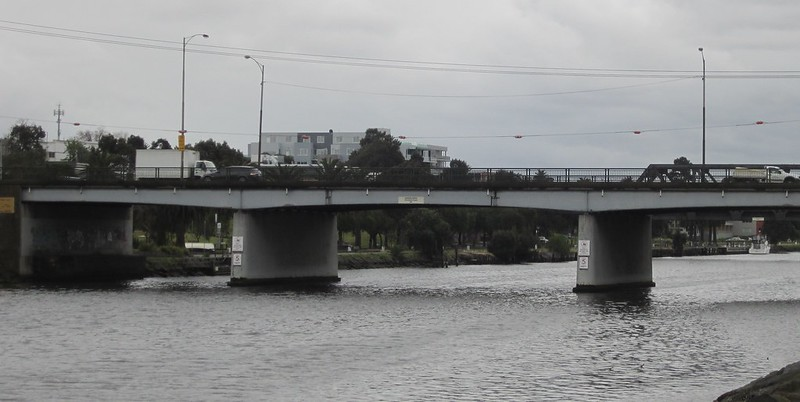 Footscray Road bridge