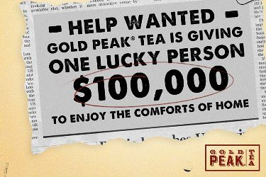 Gold Peak Tea sweepstakes