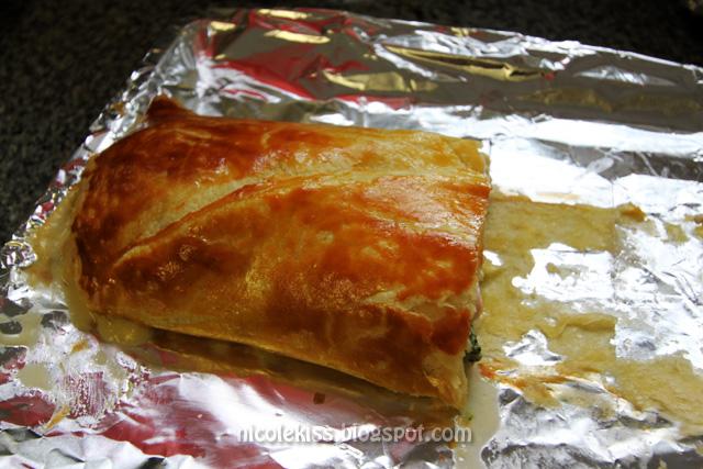 salmon pastry