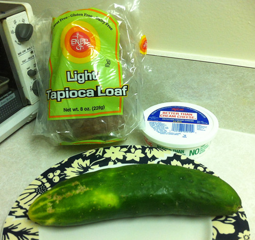 Cucumber Sandwich Fixings