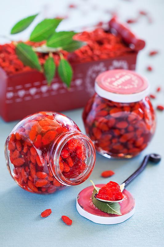 Goji berry jam