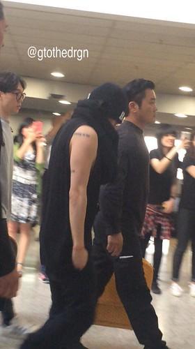 BIGBANG Arrival Melbourne 2015-10-20 (11)