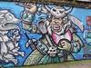 Captain Kris graffiti, Shoreditch