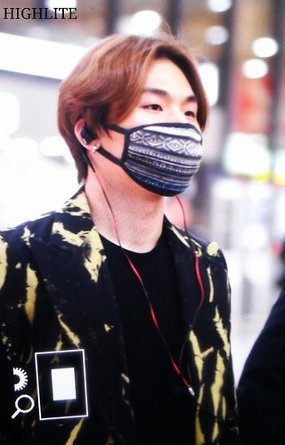 Big Bang - Gimpo Airport - 27feb2015 - Dae Sung - High Lite - 01