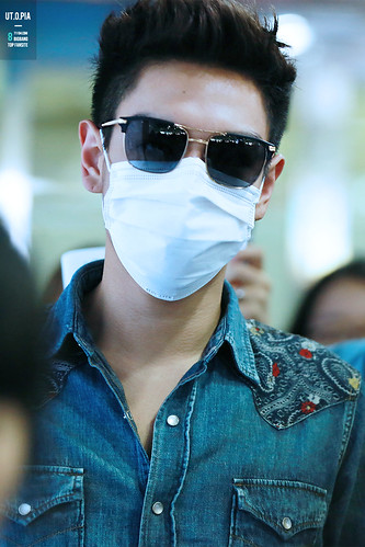 Big Bang - Gimpo Airport - 20may2015 - TOP - Utopia - 06