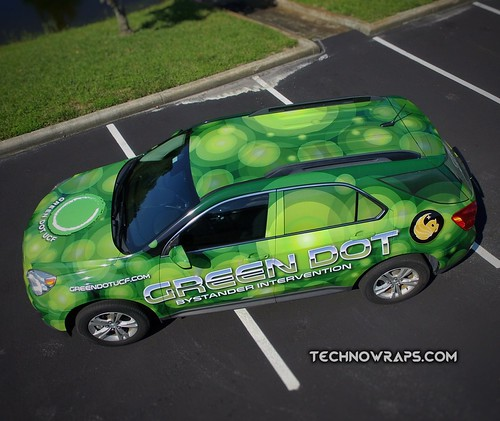 Custom SUV vehicle wrap by TechnoSigns in Orlando