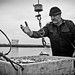 #Sandgerdi #Iceland Fishermen return to port with lot of mackerel. So particular atmosphere ! #fish #Leica #LeicaCamera by albericjouzeau