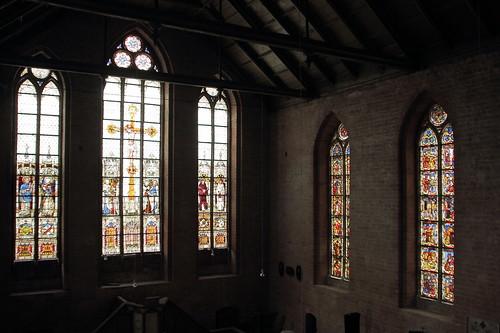 Mittelalterliche Glasfenster