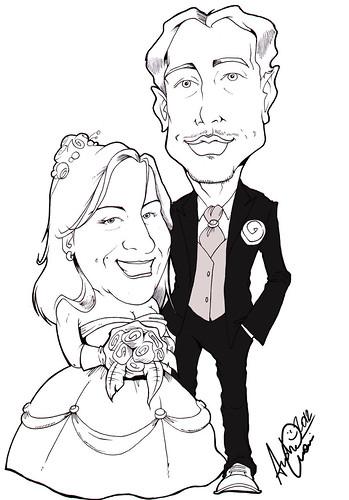 Daniele e Mariarosaria sposi