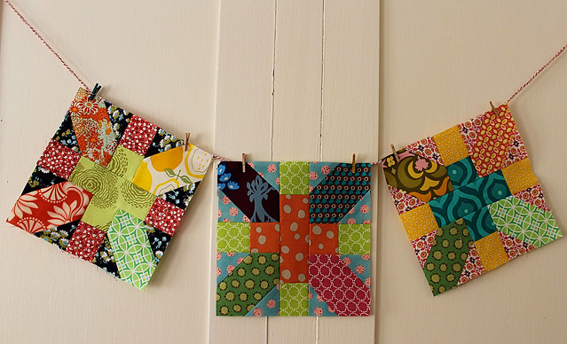 x & + Love circle August blocks