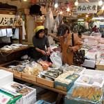 Shopping at Tsukiji Fish Market - Tokyo, Japan