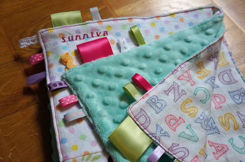 Sunniva cuddlequilt folded