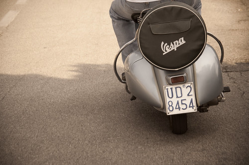 vespa by Margot!