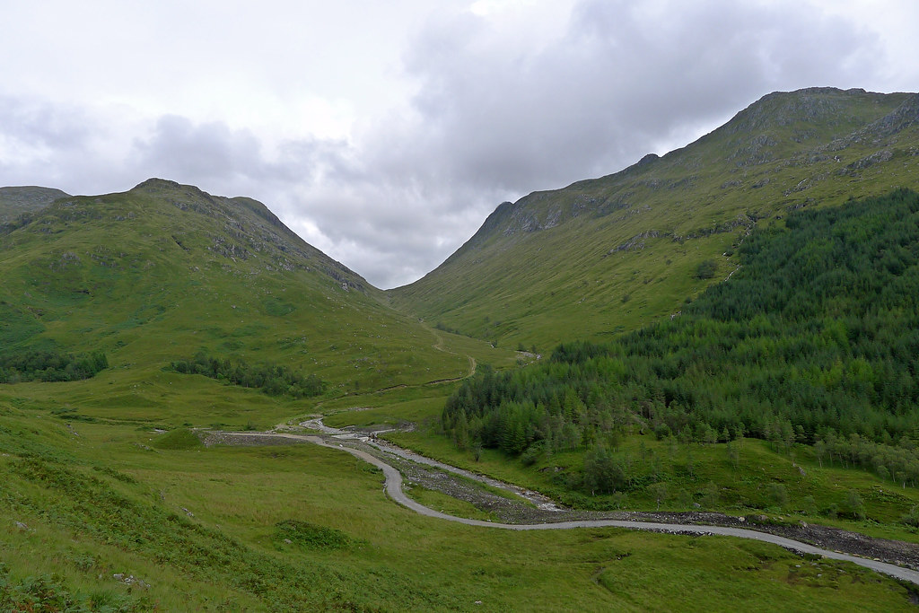 Heading up from Glen Finnan