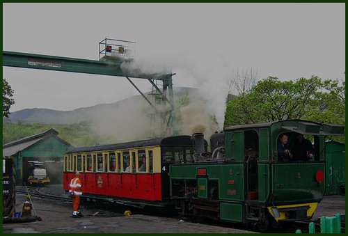 Snowdonia Mountain Steam Train