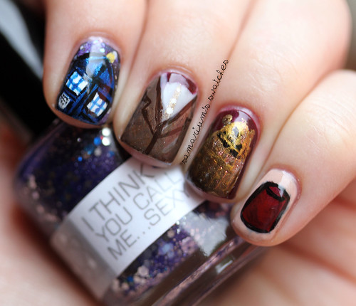 Doctor Who Nails (5)