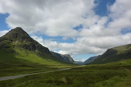 Towards the Pass of Glencoe
