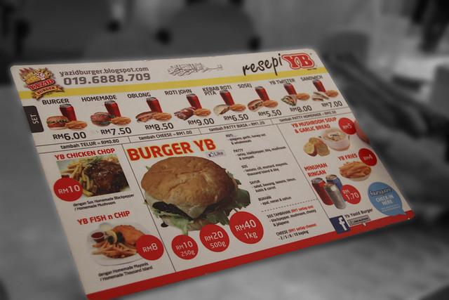 "The ""menu"""