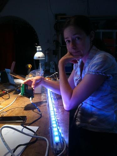 LED test