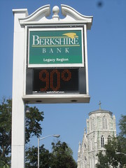 Berkshire Bank Thermometer Sign - Hot
