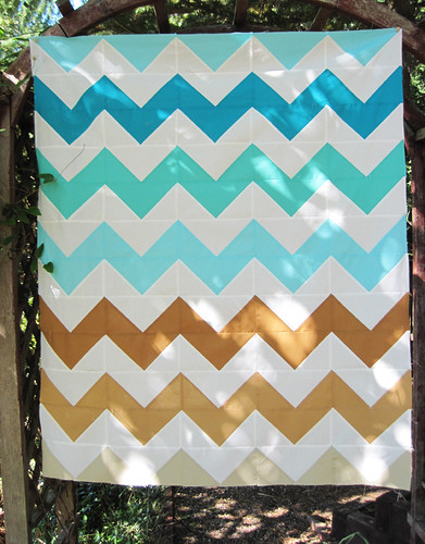 Sand & Surf Quilt Top