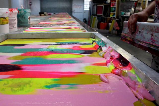 Harvest Workroom Screen printing