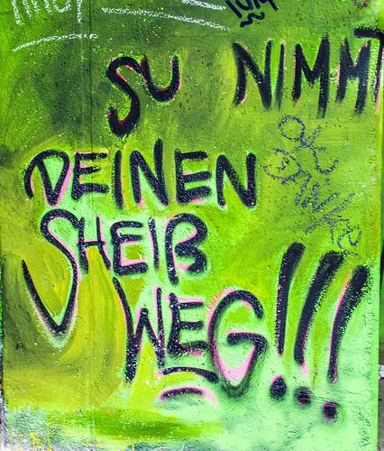 Grafitto im Tacheles; copyright 2012: Georg Berg