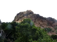 Canyon du Carciara : les parois en RG
