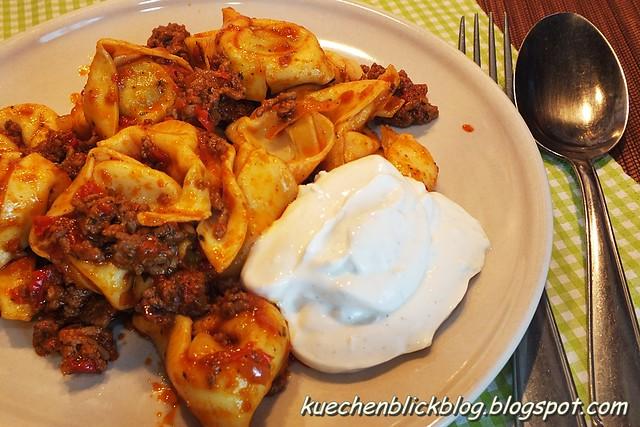 Orientalische Tortellini