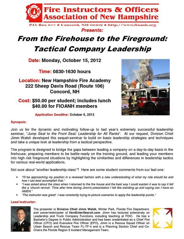 Fire Academy Training 1