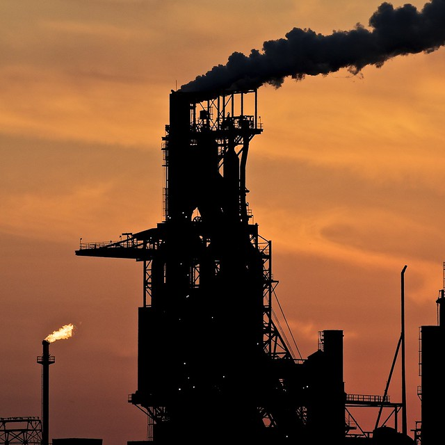 Number 7 Blast Furnace : Blast furnace essar steel algoma sault ste marie