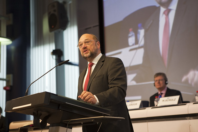 Martin Schulz, President of the European Parliament