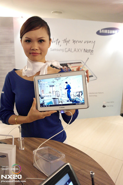 samsung note 10 show girl