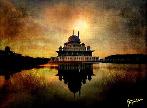 ~ Mosque on the water ~