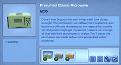 Presumed Classic Microwave