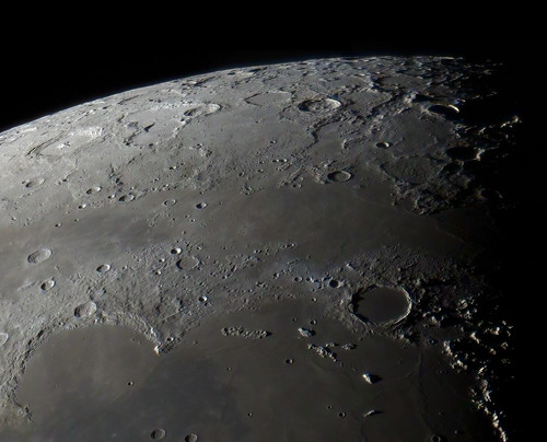 Plato and Sinus Iridum - 080912 by Mick Hyde