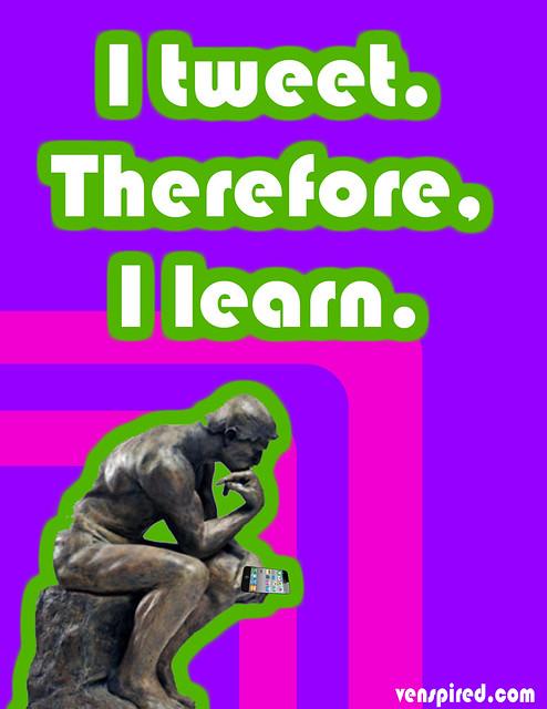 I Tweet.