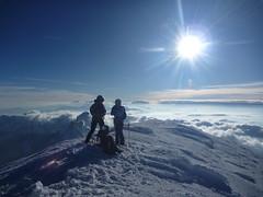 Au sommet du Mont Blanc 4810m