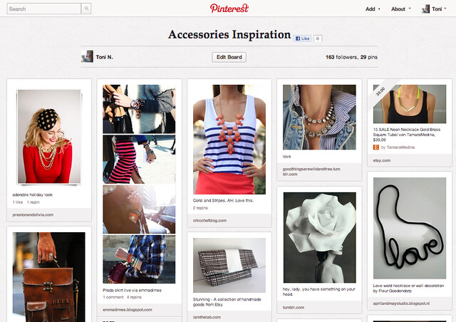 Pinterest Toni-in-Viaggio Accessories Inspiration